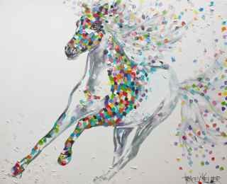 sundance horse painting tracey keller